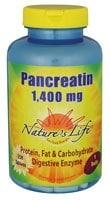 Nature's Life  Pancreatin