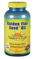 Nature's Life Golden Flax Seed Oil™ Softgels - 180 ct