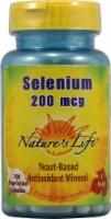 Nature's Life Selenium Capsules 200mcg