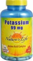 Nature's Life Potassium Capsules 99 mg - 250 ct
