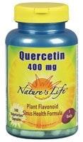 Nature's Life Quercetin Vegetarian Capsules 400mg - 600 ct
