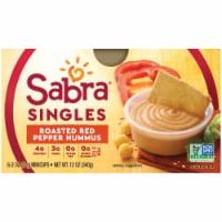 Sabra Singles Roasted Red Pepper Hummus Multi-Pack