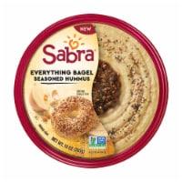 Sabra Everything Bagel Seasoned Hummus - 10 oz