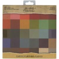 Idea-Ology Single-Sided Kraft Cardstock Pad 8 X8  36/Pkg-Classic, 36 Colors/1 Each - 1