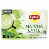 Lipton Matcha Latte Green Tea K-Cup Pods 10 Count