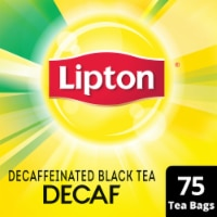 Lipton Decaffeinated Black Tea Bags