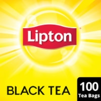 Lipton Black Tea Bags 100 Count