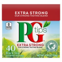 Unilever Extra Strong Black Tea Pyramid Tea Bags 40 Count