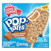 Good Humor™ Pop Tarts® Brown Sugar Cinnamon Frozen Dessert Bars - 6 ct / 2.75 fl oz