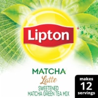 Lipton Matcha Latte Sweetened Green Tea Mix