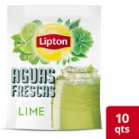Lipton Aguas Frescas Lime Iced Green Tea Mix