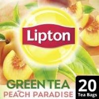 Lipton Peach Paradise Green Tea Bags
