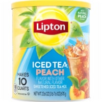 Lipton Peach Sweetened Iced Tea Mix