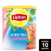 Lipton Raspberry Sweetened Iced Tea Mix
