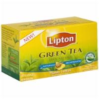 Lipton Decaffeinated Honey Lemon Chamomile Green Tea Bags