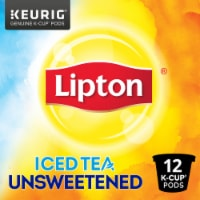 Lipton Unsweetened Iced Tea K-Cup Pods