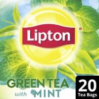 Lipton Natural Green Tea with Mint Tea Bags