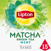Lipton Magnificent Matcha Mint Green Tea Bags