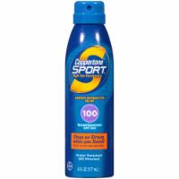 Coppertone Sport Broad Spectrum Sunscreen Spray SPF 100