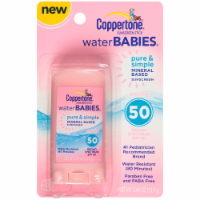 Coppertone Water Babies Pure & Simple Sunscreen Stick SPF 50