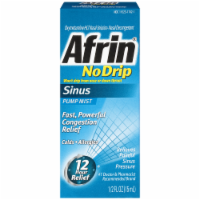 Afrin No Drip Allergy Sinus Pump Mist Nasal Decongestant