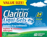 Claritin Liqui-Gels 24 Hour Liquid Filled Capsules 10mg