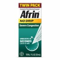 Afrin Severe Congestion Pump Mist Twin Pack - 1 fl oz