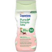 Coppertone Pure & Simple Baby Sunscreen Lotion SPF 50