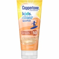 Coppertone Kids Clear Sparkle Clear Sunscreen SPF 50