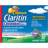 Children's Claritin Allergy Chewables