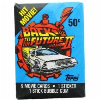 Back to the Future II 1989 Topps Single Trading Card Pack - 1 Each