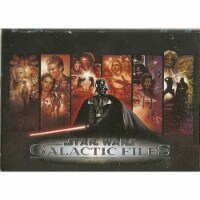 Topps Star Wars Galactic Files 16 Card Pack