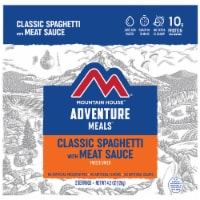 Mountain House Adventure Meals Freeze Dried Camping Meal - Classic Spaghetti with Meat Sauce