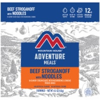 Mountain House Adventure Meals Freeze Dried Camping Meal - Beef Stroganoff with Noodles