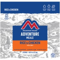 Mountain House Adventure Meals Freeze Dried Camping Meal - Rice & Chicken