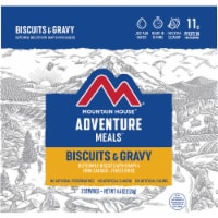 Mountain House Adventure Meals Freeze Dried Camping Meal - Biscuits & Gravy