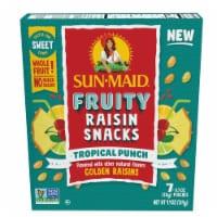 Sun-Maid Fruity Tropical Punch Raisin Snacks - 7 ct / 0.7 oz