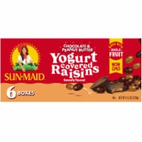 Sun-Maid Chocolate & Peanut Butter Yogurt Covered Raisins