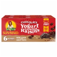 Sun-Maid Dark Chocolate Yogurt Flavored Raisins