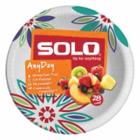 Solo Heavy Duty Paper Bowl 20 oz Assorted