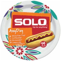 Solo Decorated 8.5-Inch Assorted Plates