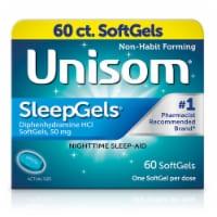 Unisom Non-Habit Forming Sleep Gels Diphenhydramine HCl SoftGels