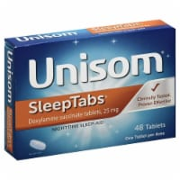 Unisom SleepTabs Doxylamine Succinate Tablets