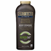 Gold Bond Ultimate Refresh 360 Scent Men's Essentials Body Powder