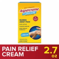 Aspercreme With 4% Lidocaine Odor Free Pain Relieving Creme