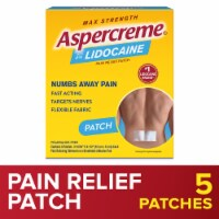 Aspercreme Max Strength Lidocaine Patch Odor Free
