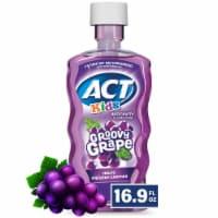 Act Kids Anticavity Rinse Groovy Grape 16.9 Fluid Ounces