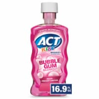 Act Kids Bubblegum Blowout Anticavity Fluoride Rinse