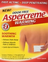 Aspercreme Warming Patchs 5 Count