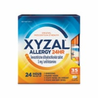 Xyzal Allergy 24 Hour Relief Tablets 35 Count